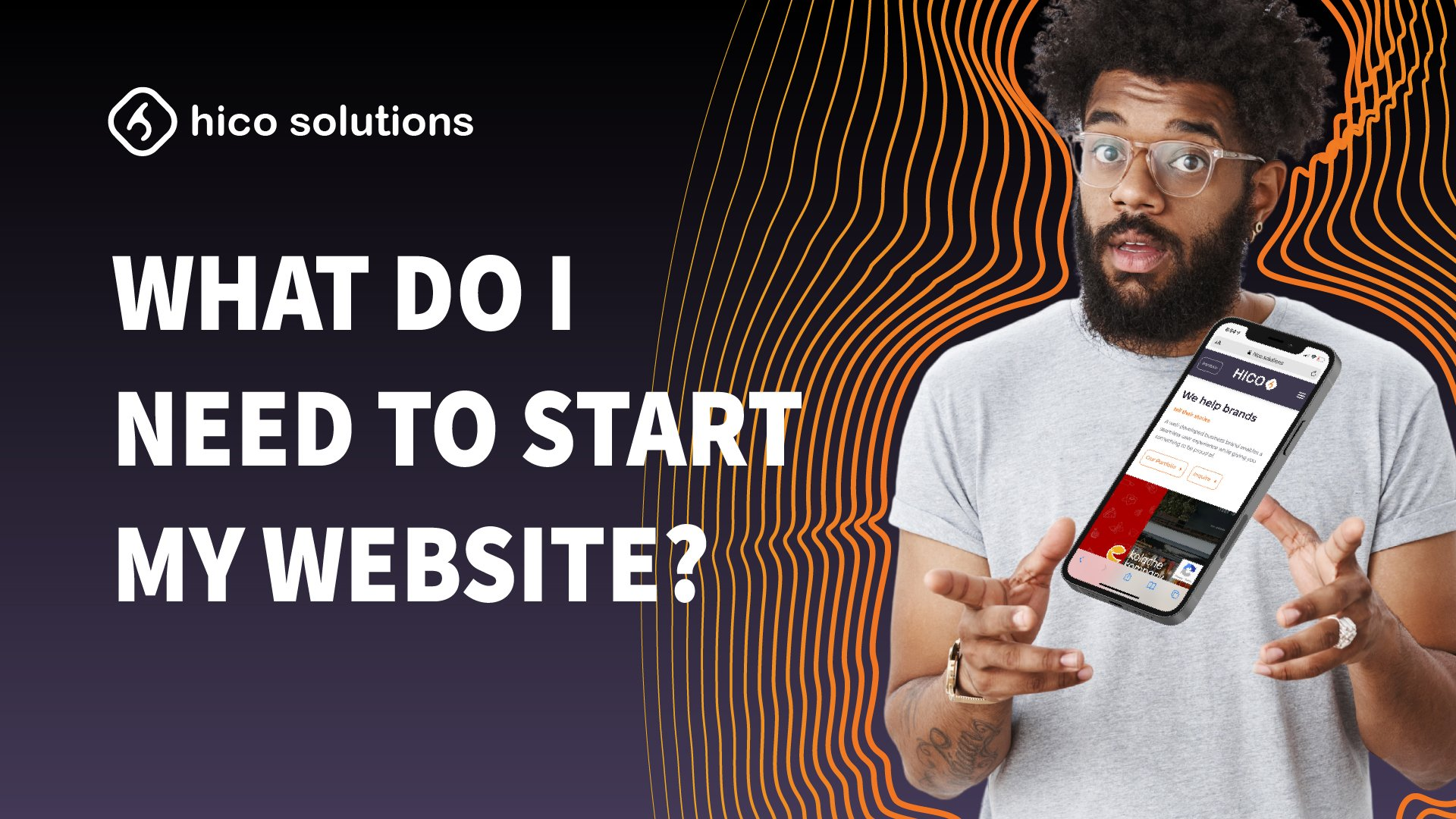 What Do I Need To Start My Website?